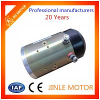 Wholesale Jinle IP54 Glass Hydraulic  Micro DC Motor 100% Copper Wire 24V 2.2KW from china suppliers