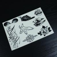 Wholesale Fashion Body Tattoo Stickers , Customizable Fake Hand Tattoo Stickers from china suppliers
