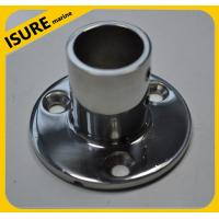 Wholesale Boat Deck Handrail Round Base 90 degree,marine hardware from china suppliers