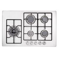 Quality Popular Five Ring Gas Hob / 5 Burner Gas Stove With Safety Device Auto Ignition for sale