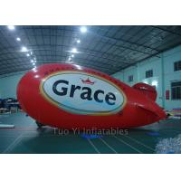 Wholesale Colorful Giant Advertising Zeppelin , Helium Airplane for Entertainment Event from china suppliers