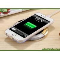 Wholesale QI Mobile Phone Wireless Charging Mini Power Bank 93g Single Coil 5V / 2A from china suppliers