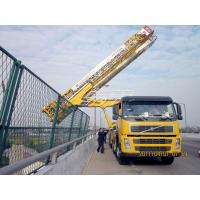 Wholesale 8x4 22m Latice under bridge inspection equipment VOLVO With Air suspension system from china suppliers