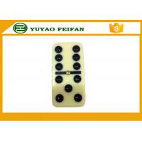 Wholesale 54 * 27 * 12mm Professional Double Six Domino Titles Family Classic Games Dominoes from china suppliers