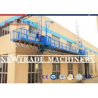 Wholesale CE SGS Certificated Twin Rack Mast Climbing Working Platform , Construction Platform from china suppliers