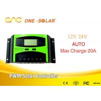 Wholesale CE FCC Certification Pwm Solar Controller 20A 12V/24V ONE Controller Hi Tech from china suppliers