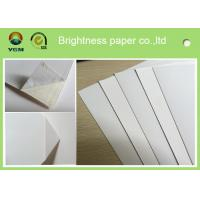 Wholesale Waterproof White Cardboard Sheets For Magazine Cover 190gsm -- 400gsm from china suppliers