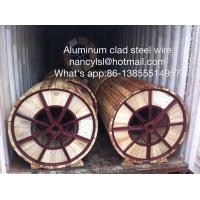 Wholesale High Conductivity Aluminum Clad Steel Wire For Electric Transmission Line from china suppliers