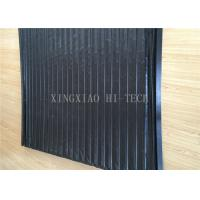 Wholesale PVC Machine Protection Fabric Expansion Joint Covers / Connection Black Color from china suppliers