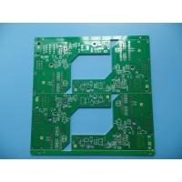 Quality Gloss Green Switch HASL PCB Single Sided UL94V0 CEM-1 PCB 1.6 mm for sale