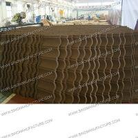 Wholesale anti-fire stone coated metal roof tile from china suppliers