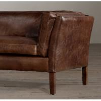 Wholesale Genuine Leather Living Room Sofa with cushion for smaller sitting areas from china suppliers