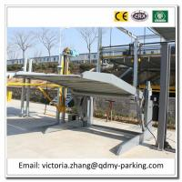 Wholesale Hot Sale 2000kg 2 Cars Easy Parking Lift Simple Tilting Stacker Two Post Car Parking Lift from china suppliers