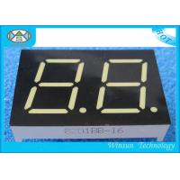 Wholesale 0.80 Inch Height Two Digit 7 Segment Display , LED Numeric Display for Audio equipment from china suppliers