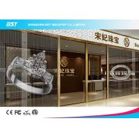 Wholesale Small Transparent Led Curtain Display Screen , High Contrast Mesh Led Display from china suppliers