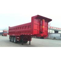 Wholesale 40T-100T 2 Axles or 3 axles heavy load dump tipping semi trailer truck ,  dump tractor trailer from china suppliers