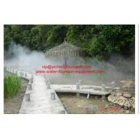 Wholesale Outdoor Fogging System Water Fountain Project For Hot Spring Project from china suppliers