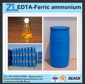 Buy cheap reddish brown EDTA-Ferric ammonium CAS:21265-50-9 from wholesalers