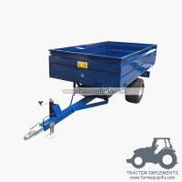 Wholesale 2TR2W off road Hydraulic dump trailer 1.0ton from china suppliers