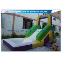 Wholesale Funny Game Small Inflatable Water Slide / Kids Inflatable Garden Water Slides from china suppliers