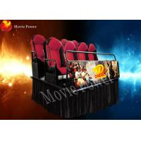 Wholesale Hydraulic System 7D Simulator Cinema 6 DOF Motion Platform SGS from china suppliers