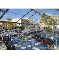 Wholesale Transparent PVC Fabric Cover Luxury Wedding Tents for Parties With Aluminum Alloy Frame from china suppliers