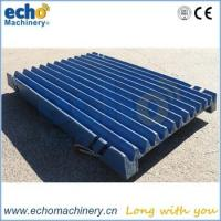 Wholesale high manganese Kleeman Mobicat 120Z jaw crusher spare parts jaw plate for quarry crushing from china suppliers