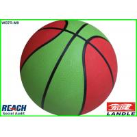 Wholesale Custom 12 Panel Rubber Basketballs Size 7 / Multi Colored Basketballs from china suppliers