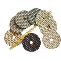 Quality flexible diamond dry polishing pads for sale
