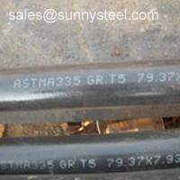 Wholesale ASTM A213 T5 Seamless alloy pipe from china suppliers
