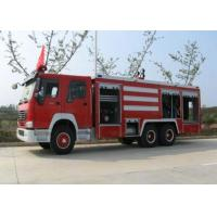 Wholesale Compact Structure Emergency Fire Engine Vehicles / Firefighter Trucks from china suppliers