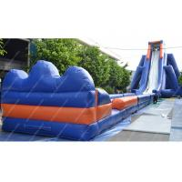 Wholesale Waterproof Large Inflatable Water Slides Pvc Outdoor WIth 30m x 10m from china suppliers