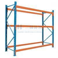 Wholesale Customised Heavy Duty Cold Roll Steel Container Store Shelves for Factories, Warehouse from china suppliers