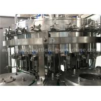 Wholesale 6.57KW Power Carbonated Drink Filling Machine PE Srew Cap For Gas Contained Beverage from china suppliers