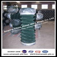 Wholesale PVC coated cyclone wire/chain link fence from china suppliers
