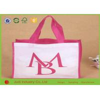 Wholesale Logo Printed Non Woven Shopping Bag 30 ~ 180gsm 38 X 42 X 10cm Reusable / Durable from china suppliers