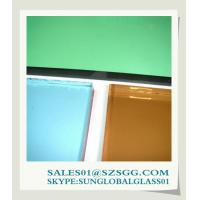 China High quality color float glass (bronze, grey, green, blue) on sale
