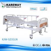 Wholesale Private Hospital Manual Hospital Bed Easy Cleaning With Silent Wheels from china suppliers