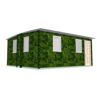 Wholesale Quick Assemble Earthquake Proof Modular Homes Bungalow / Emergency Portable Shelter from china suppliers