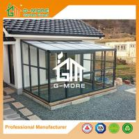 Wholesale 242 X 315 X 237CM  Dark Grey Color 8mm Thick Polycarbonate Aluminum Sunroom from china suppliers