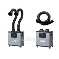 Wholesale 200W Intelligent Solder Smoke Extractor Portable Two Flexible Arm from china suppliers
