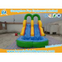 Wholesale Safety Logo Printing Toddler Inflatable Pool Slide With Climbing Stairs from china suppliers