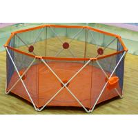 Wholesale Adjustable Collapsible Baby Playpen Fence Lightweight Metal Frame from china suppliers