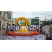 Wholesale Spongebob Children Inflatable Jumping Bouncer / inflatable Activities For Entertainment from china suppliers
