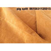 China Manufacturers Pig Leather  resined split importers exporters Joyce M.G Group Company Limited on sale