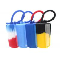 China Tie Dye Elastic Durable Silicone Hand Sanitizer Holder for Carry The Scent-bottle or Hand Sanitizer Bottle on sale
