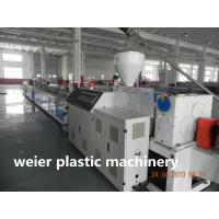 Wholesale 300 kg / hour WPC Extrusion Machine / Machinery For Wood And Plastic Profile , Width 300mm from china suppliers