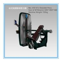 Buy cheap Plate Loaded Seated Chest Press Fitness Equipment , Gym Workout Machines Black from wholesalers