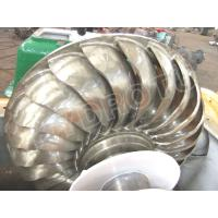 Wholesale High Specific Speed Turgo Hydro Turbine / Turgo Water Turbine with Stainless steel Runner Diameter Below 1.5m from china suppliers