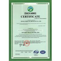 Jining Fortune Biotech Co.,Ltd Certifications